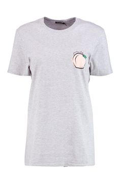Poppy Peachy Oversized T-Shirt