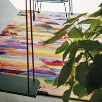 Brink en Campman Kaleidoscope Delta 16405 Vloerkleed Multi - 200 x 280 cm - afbeelding 2 Interior Rugs, Colorful Rugs, Multicoloured Rugs, Stripes Design, Modern Rugs, Wool Area Rugs, Woven Rug, Kids Rugs, Contemporary