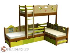 Кровать двухъярусная 8