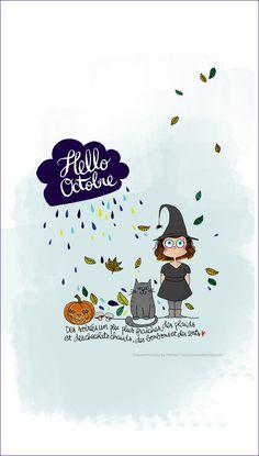 Halloween Quotes, Halloween Kids, Message Light Box, Mantra, Organization Bullet Journal, Halloween Illustration, Journal Themes, Journal Ideas, Image Fun