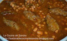 La Cocina de Sandra: HABICHUELAS CON BOLLITAS