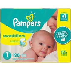 Find Pampers Swaddlers Diapers at Sam's Club. Wrap your baby in Pampers softest diaper with up to 12 hours of overnight protection help make your baby comfortable. Size 1 Diapers, Diaper Sizes, Couches, Diaper Brands, Target, Newborn Diapers, Diaper Babies, Thing 1, Disposable Diapers