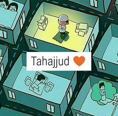 I want tahajjud everyday Insha ALLAH ❤️