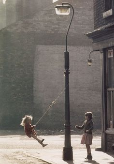 Two girls outside a cornershop in Hulme, Manchester by Shirley Baker Photography Camera, Art Photography, Manchester Park, Shirley Baker, Salford, Principles Of Design, Street Photographers, Two Girls, Fishing Lures
