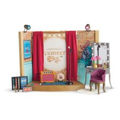Tenney's Stage & Dressing Room | American Girl