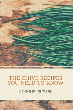 Is your garden loaded with chives this season? If so, it might be time to consider some of these top chive recipes. Your taste buds will thank you! Baking Recipes, Diet Recipes, Vegan Recipes, Chives Plant, Cook Up A Storm, Homestead Survival, Herb Gardening, Container Gardening, What To Cook