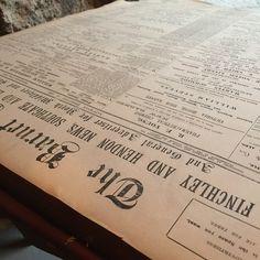 A Folio of 1900s Newspaper.