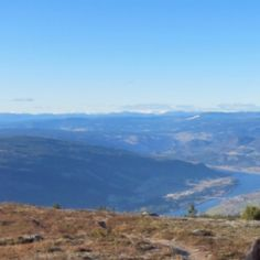 View from Hafjell