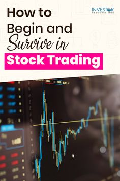 Thinking about investing and trading in stocks? Check out our in-depth guide to starting and surviving in stock trading right here. #Trading #Stocktrading #Trader Learn Stock Market, Stock Market Graph, Stock Market Investing, Investing Apps, Dividend Investing, Value Investing, Best Way To Invest, Learn Forex Trading, Investment Quotes