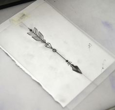 arrow tattoo sketch