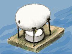 In unserem Experiment können Sie und Ihr Kind ein selbst gebasteltes Boot mit Wasserdampf antreiben und in der Badewanne schwimmen lassen!