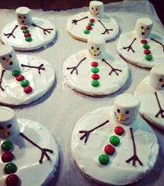 Melting Snowmen!