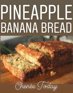 An easy tropical twist on banana bread Crushed pineapple makes a moist and tangy result every time plus brown butter and toasted pecans make it irresistible Pineapple Banana Bread Recipe, Banana Recipes Easy, Moist Banana Bread, Pineapple Recipes, Quick Bread Recipes, Bread Machine Recipes, Bread Machine Banana Bread, Crockpot Recipes, Healthy Recipes