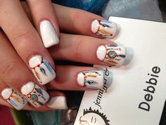 Native American feathers design