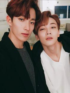 DK and Jeonghan Seventeen