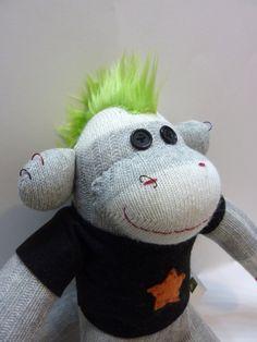 Punk Sock Monkey