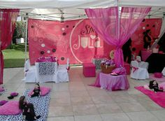 Fiestas para niñas en México: Julia Spa de Julia Party #party #dolls #fiestasinfantiles