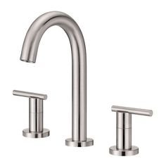Danze D304558 Chrome Widespread Bathroom Faucet (Parma Collection) (Valve Included)