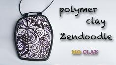 Polymer clay tutorial Zentangle Pendant - Design transfer- Arcillas poli... A good essential foundation.