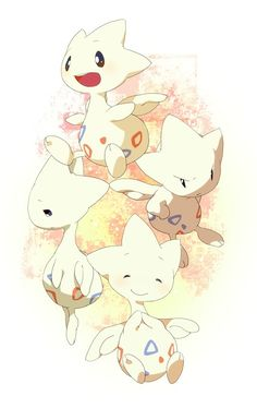 Togetic, I got one in my Pokémon X. I'm not gonna evolve it. Been using it to battle online. It kicks butt.