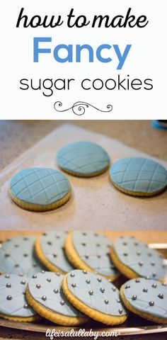 An easy tutorial to make beautiful, professional-looking sugar cookies. So easy even the novice baker can do this!!