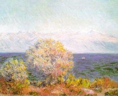 Monet, Au Cap d'Antibes
