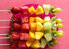 Best Portable Picnic Desserts | Fruit Skewers
