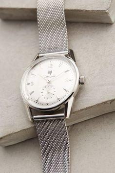 Himalaya 1954 Silver Watch - anthropologie.com