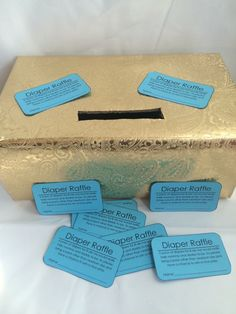 Diaper Raffle Baby Shower Game Tickets  by weebittrendy on Etsy
