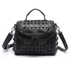 70805481c152 Női táska - monaco - luxus - fekete, valódi bőr. Bőr VálltáskaBőrtáska