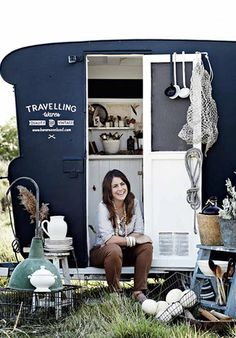 Traveling Wares Caravan - Kara Rosenlund. My new girl crush!