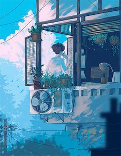 𝓛𝓲𝓷 - Anime Gifs Art by Konosuba Wallpaper, Anime Scenery Wallpaper, Aesthetic Gif, Aesthetic Wallpapers, Pretty Art, Cute Art, Arte Game Of Thrones, Arte 8 Bits, Animated Love Images