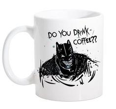 "Caneca ""Do you drink coffee?"" 325ml - Groovy Toy Shop"