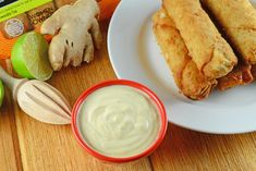 Coconut Curry Sauce is a creamy Asian dipping sauce with curry, lime, coconut milk and yogurt.
