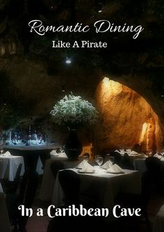Traveling to Santo Domingo in the Dominican Republic? Don't miss this chance to have a romantic dinner in a pirate's cave in the Caribbean.