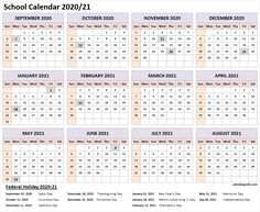 Academic calendar with federal, bank, public, national holiday list. National Holiday List, National Holiday Calendar, Federal Holiday Calendar, School Calender, Academic Planner, Calendar Pictures, Cute Calendar, 2021 Calendar, Bricolage