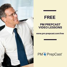 FREE PMP Exam prep lessons here! http://www.pm-prepcast.com/free #PMP #PMI #PMPexam