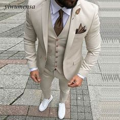 Custom Made Men Wedding Suit Prom Tuxedo Slim Fit 3 Piece Groom Wear Blazer Custom Made Men Wedding Suit Prom Tuxedo Slim Fit 3 Piece Groom Wear Blazer 36 Groom Suit That Express Your Unique Styles and…Boho Wedding Dresses custom madeTHE DROP Mens Fashion Blazer, Suit Fashion, Fashion Clothes, Fashion Sale, Fashion Outlet, Fashion Rings, Runway Fashion, Groom Fashion, Cheap Fashion