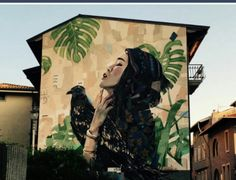 Street Art located in Rome, Italy
