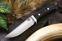 Barkriver Knives Classic Clip Black Green Linen Micarta