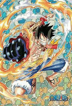Red hawk luffy / One Piece Anime One Piece, One Piece Fanart, One Piece World, One Piece 1, One Piece Luffy, Manga Anime, Otaku Anime, Monkey D Luffy, One Piece Tattoos