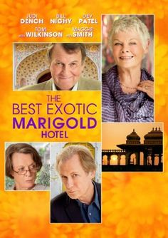 The Best Exotic Marigold Hotel: Judi Dench, Bill Nighy, Maggie Smith, Tom Wilkinson, Dev Patel (from Slumdog Millionaire) Maggie Smith, Maggie Grace, Love Movie, Movie Tv, Perfect Movie, Indian Palace, It Netflix, Netflix Canada, Tom Wilkinson