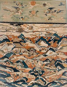 STAR GATES: WHO ARE THESE PEOPLE IN THE SKY??? WHO ARE THOSE PEOPLE LIVING UNDER THE MOUNTAINS OR CAVES???  WHAT IS THE MESSAGE THAT THEY LEFT HERE FOR THE FUTURE GENERATIONS ON PLANET EARTH???  WHAT DO YOU SEE??? WHAT DO YOU THINK??? WHAT DO YOU KNOW??? Tapestry 17th century. Qing dynasty (1644–1911). China. The Metropolitan Museum of Art, New York. Purchase, The Vincent Astor Foundation Gift, 2011 (2011.158)