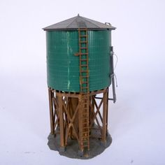 Faller Model Water Tower now featured on Fab.