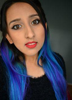 Black Moon Cosmetics Harvest Liquid Lipstick  Arctic Fox Dye Aquamarine Purple Rain ~ MishMreow