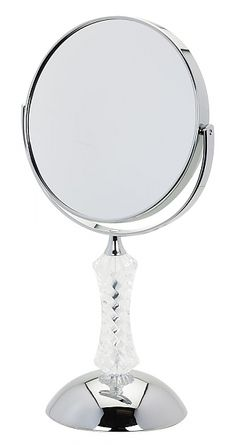 Danielle Creations 5x Large Crystal Vanity Makeup Mirrors   seattleluxe.com