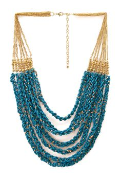 Worldly Beaded Necklace | FOREVER21 #Beaded #Necklace #Accessories