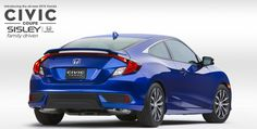 Introducing the all new 2016 Honda Coupe! #Honda #Coupe #hondacivic #Civic #CivicCoupe