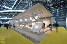 Arcana Tiles at Cevisama 2016 | Arcana Ceramica | #event #cevisama #inspiration #tiles Exhibition Space, Booth Design, Trade Show, Exhibit Design, Museums, Tiles, Inspiration, Home Decor, Room Tiles