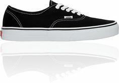 3816be361423 Vans Authentic Black Shoe at Zumiez   PDP Vans Authentic Black